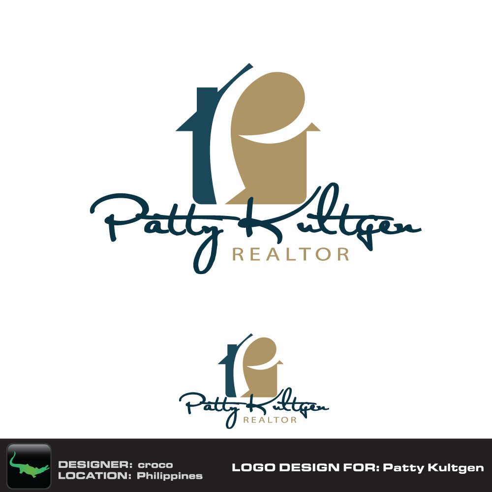 Logo Design by rockin - Entry No. 22 in the Logo Design Contest Logo Design Needed for Exciting New Company Patricia Kultgen Realtor.