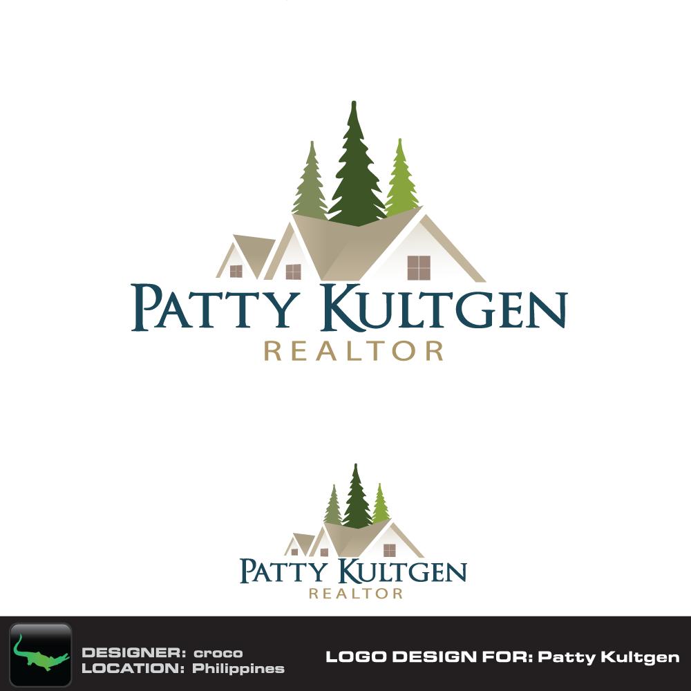 Logo Design by rockin - Entry No. 23 in the Logo Design Contest Logo Design Needed for Exciting New Company Patricia Kultgen Realtor.