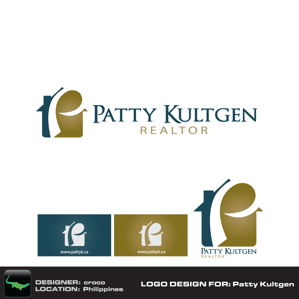 Logo Design by rockin - Entry No. 24 in the Logo Design Contest Logo Design Needed for Exciting New Company Patricia Kultgen Realtor.