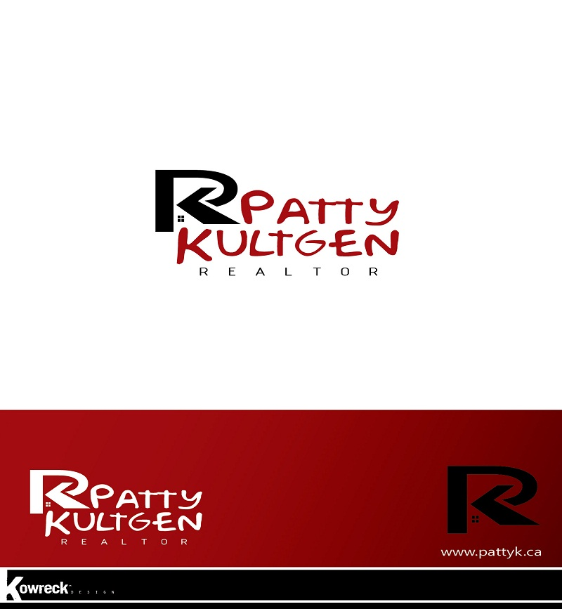 Logo Design by kowreck - Entry No. 28 in the Logo Design Contest Logo Design Needed for Exciting New Company Patricia Kultgen Realtor.