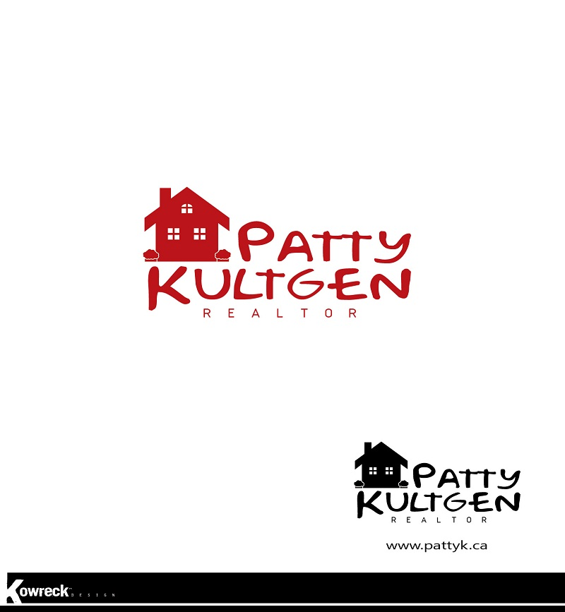 Logo Design by kowreck - Entry No. 29 in the Logo Design Contest Logo Design Needed for Exciting New Company Patricia Kultgen Realtor.