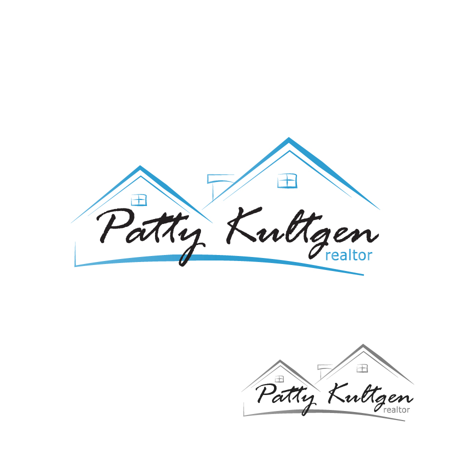 Logo Design by Edward Goodwin - Entry No. 30 in the Logo Design Contest Logo Design Needed for Exciting New Company Patricia Kultgen Realtor.