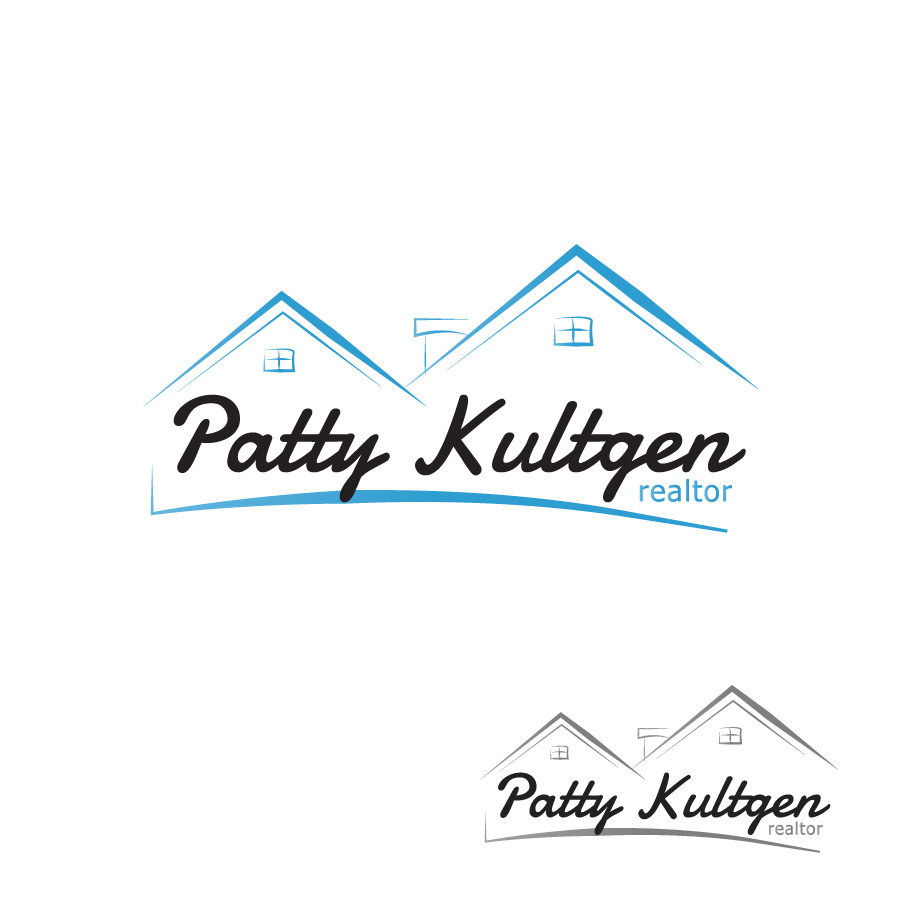 Logo Design by Edward Goodwin - Entry No. 31 in the Logo Design Contest Logo Design Needed for Exciting New Company Patricia Kultgen Realtor.