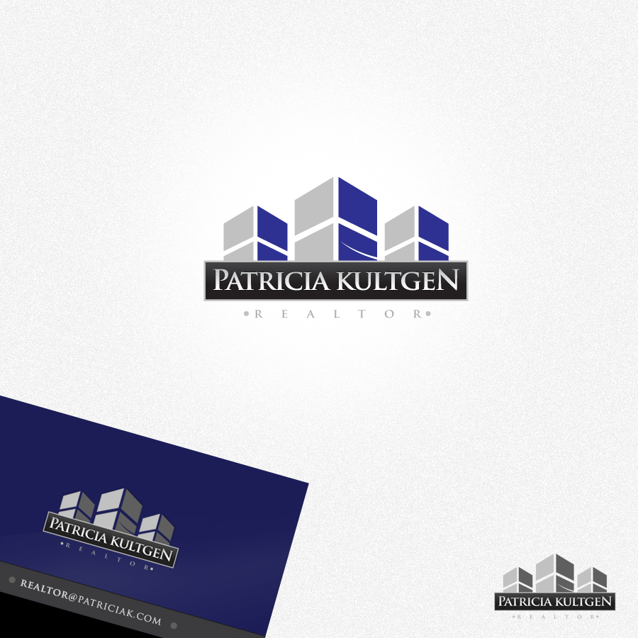 Logo Design by rockpinoy - Entry No. 32 in the Logo Design Contest Logo Design Needed for Exciting New Company Patricia Kultgen Realtor.