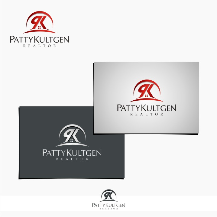 Logo Design by graphicleaf - Entry No. 35 in the Logo Design Contest Logo Design Needed for Exciting New Company Patricia Kultgen Realtor.
