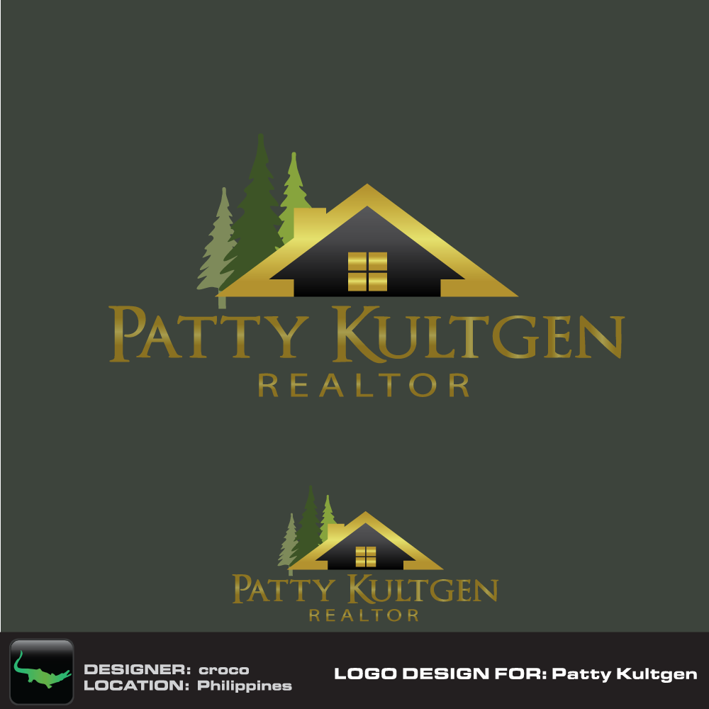 Logo Design by rockin - Entry No. 42 in the Logo Design Contest Logo Design Needed for Exciting New Company Patricia Kultgen Realtor.