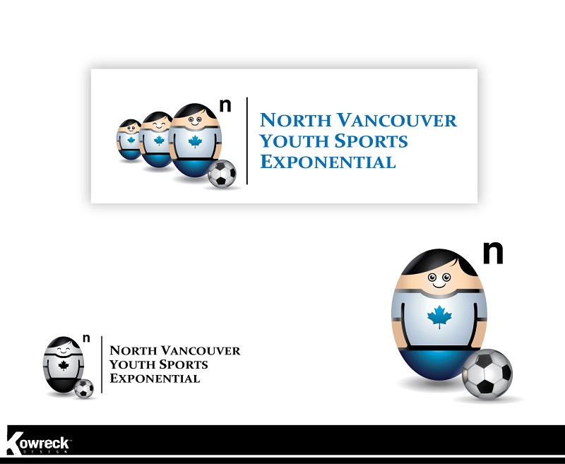 Logo Design by kowreck - Entry No. 1 in the Logo Design Contest Fun Logo Design for North Vancouver Youth Sports Exponential.