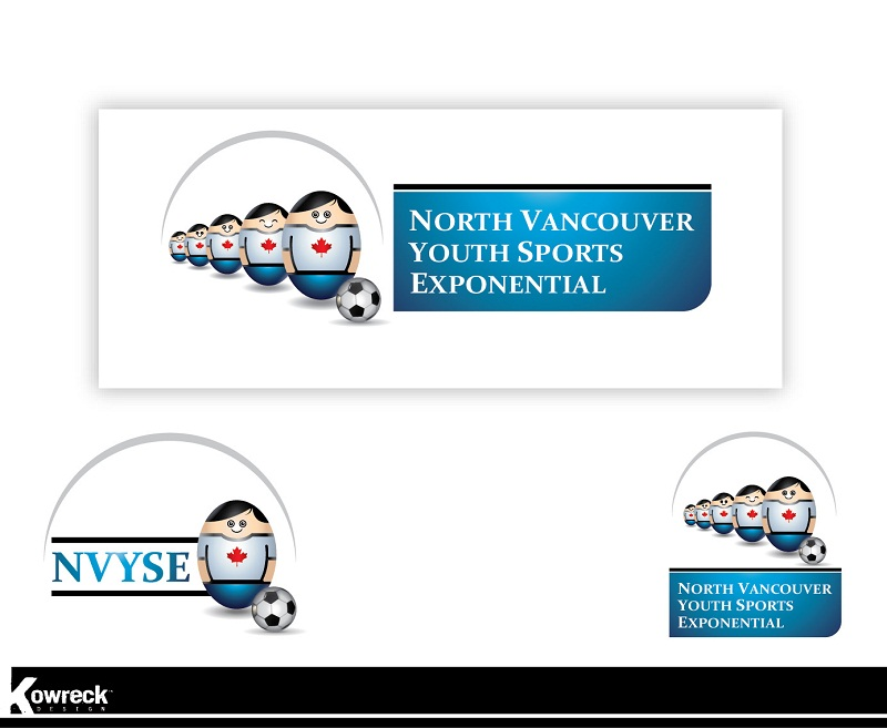 Logo Design by kowreck - Entry No. 2 in the Logo Design Contest Fun Logo Design for North Vancouver Youth Sports Exponential.