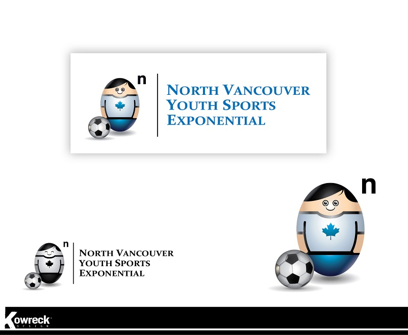 Logo Design by kowreck - Entry No. 3 in the Logo Design Contest Fun Logo Design for North Vancouver Youth Sports Exponential.
