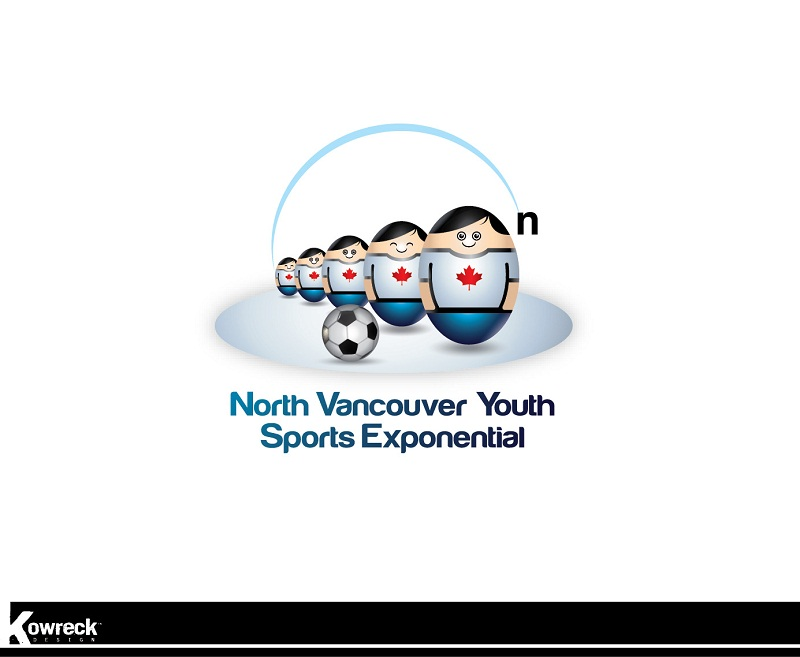 Logo Design by kowreck - Entry No. 4 in the Logo Design Contest Fun Logo Design for North Vancouver Youth Sports Exponential.