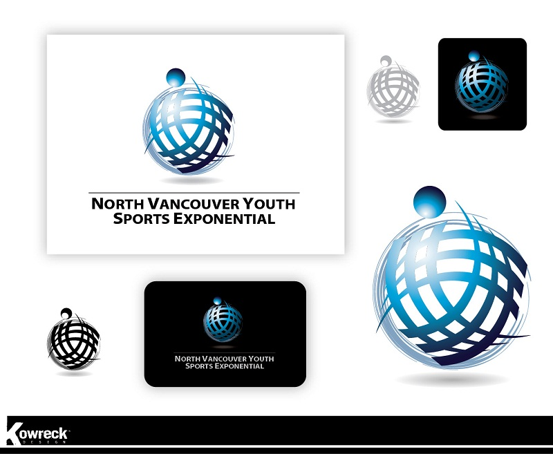 Logo Design by kowreck - Entry No. 5 in the Logo Design Contest Fun Logo Design for North Vancouver Youth Sports Exponential.