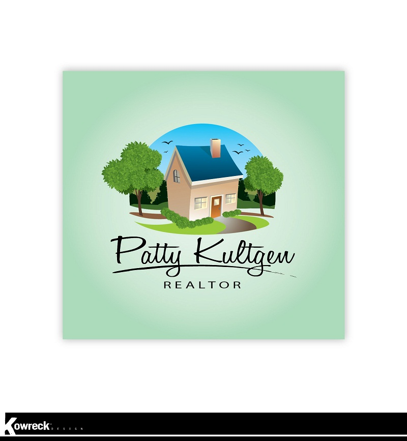 Logo Design by kowreck - Entry No. 47 in the Logo Design Contest Logo Design Needed for Exciting New Company Patricia Kultgen Realtor.