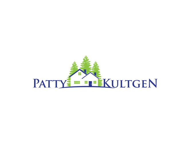 Logo Design by blackmarker - Entry No. 49 in the Logo Design Contest Logo Design Needed for Exciting New Company Patricia Kultgen Realtor.