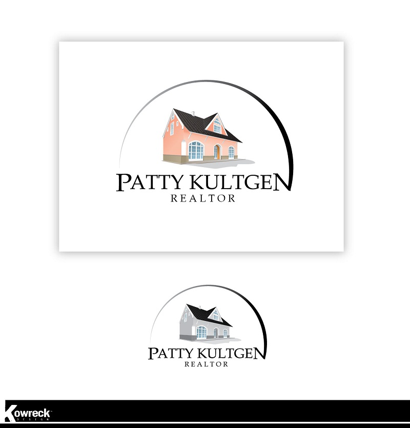Logo Design by kowreck - Entry No. 56 in the Logo Design Contest Logo Design Needed for Exciting New Company Patricia Kultgen Realtor.