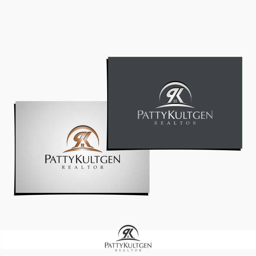Logo Design by graphicleaf - Entry No. 59 in the Logo Design Contest Logo Design Needed for Exciting New Company Patricia Kultgen Realtor.