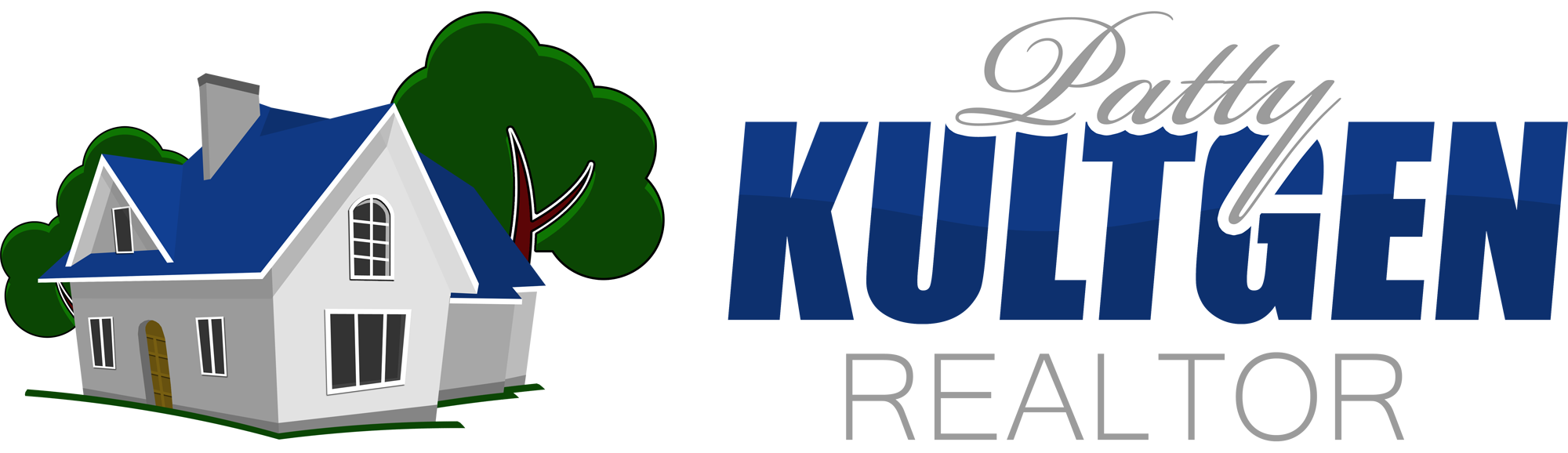 Logo Design by Jeff Gilmet - Entry No. 60 in the Logo Design Contest Logo Design Needed for Exciting New Company Patricia Kultgen Realtor.
