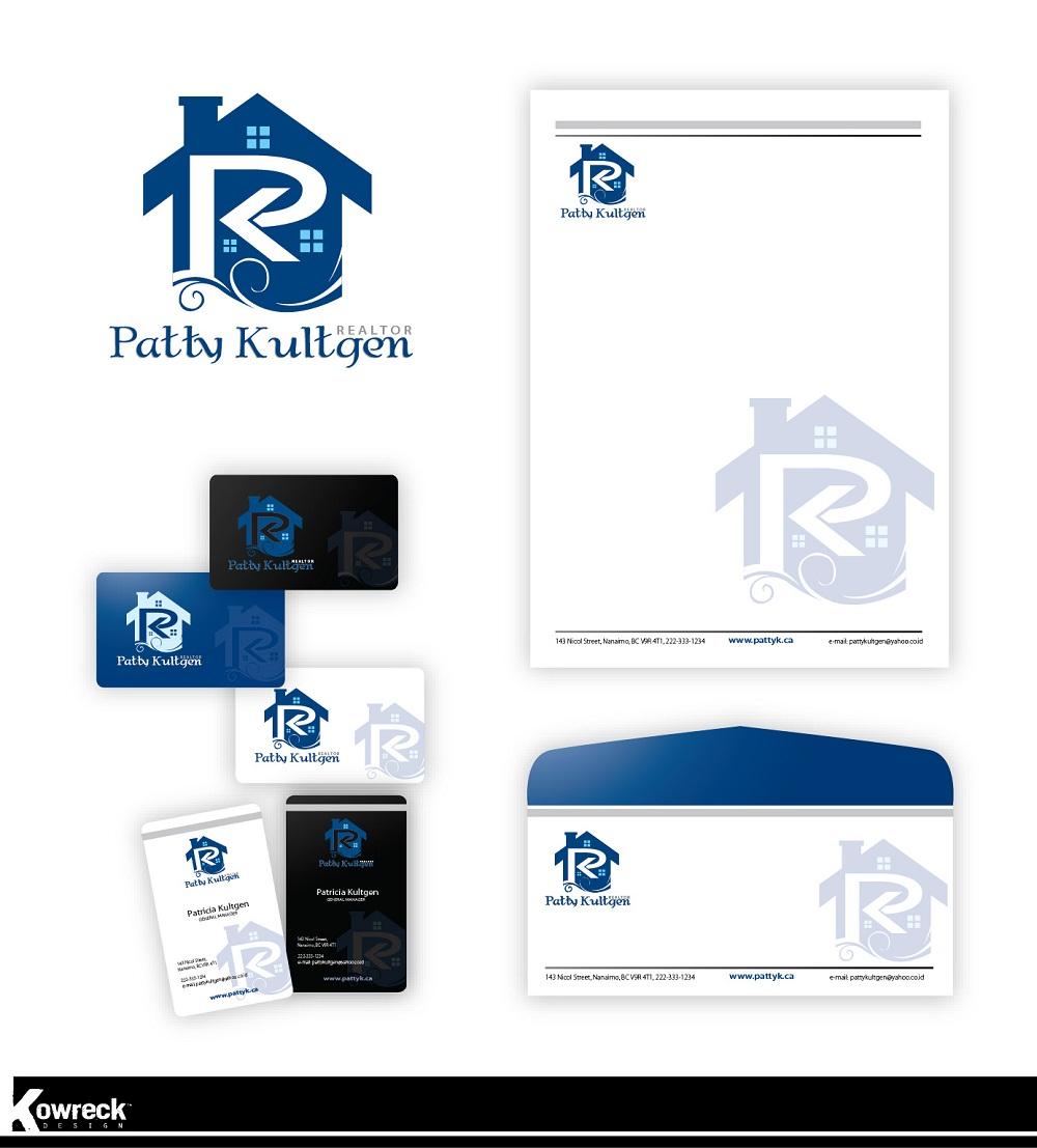 Logo Design by kowreck - Entry No. 61 in the Logo Design Contest Logo Design Needed for Exciting New Company Patricia Kultgen Realtor.
