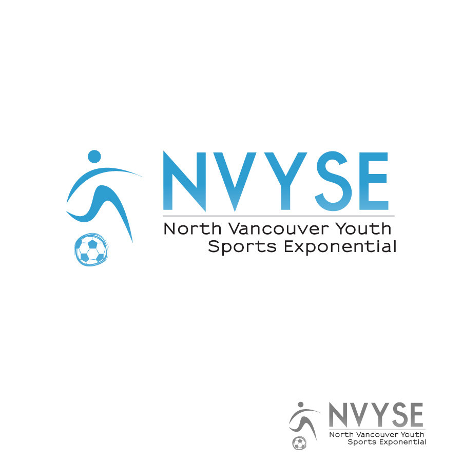 Logo Design by Edward Goodwin - Entry No. 13 in the Logo Design Contest Fun Logo Design for North Vancouver Youth Sports Exponential.
