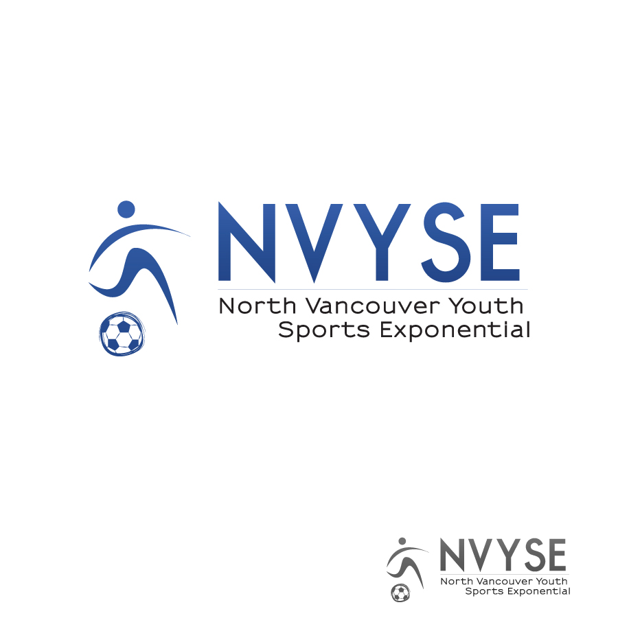 Logo Design by Edward Goodwin - Entry No. 14 in the Logo Design Contest Fun Logo Design for North Vancouver Youth Sports Exponential.