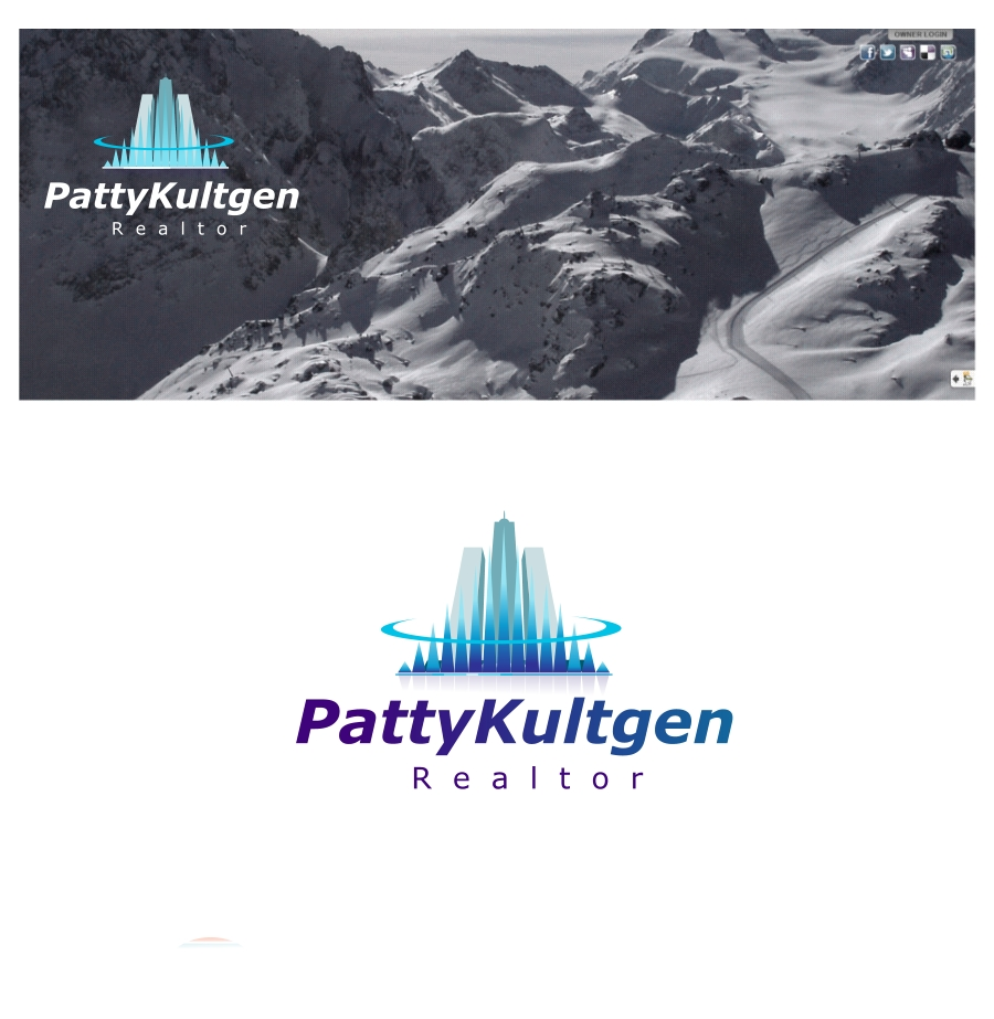Logo Design by Private User - Entry No. 72 in the Logo Design Contest Logo Design Needed for Exciting New Company Patricia Kultgen Realtor.