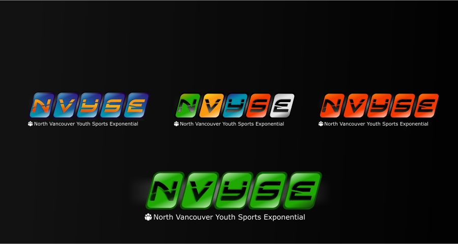 Logo Design by Private User - Entry No. 15 in the Logo Design Contest Fun Logo Design for North Vancouver Youth Sports Exponential.