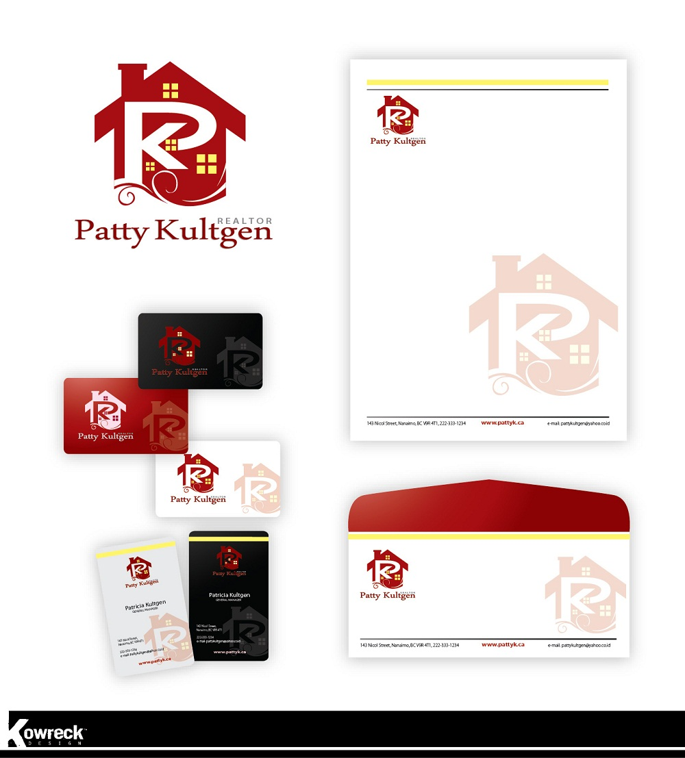 Logo Design by kowreck - Entry No. 75 in the Logo Design Contest Logo Design Needed for Exciting New Company Patricia Kultgen Realtor.