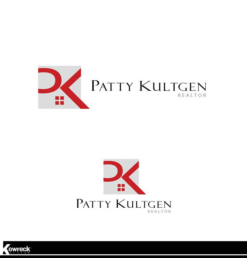Logo Design by kowreck - Entry No. 98 in the Logo Design Contest Logo Design Needed for Exciting New Company Patricia Kultgen Realtor.