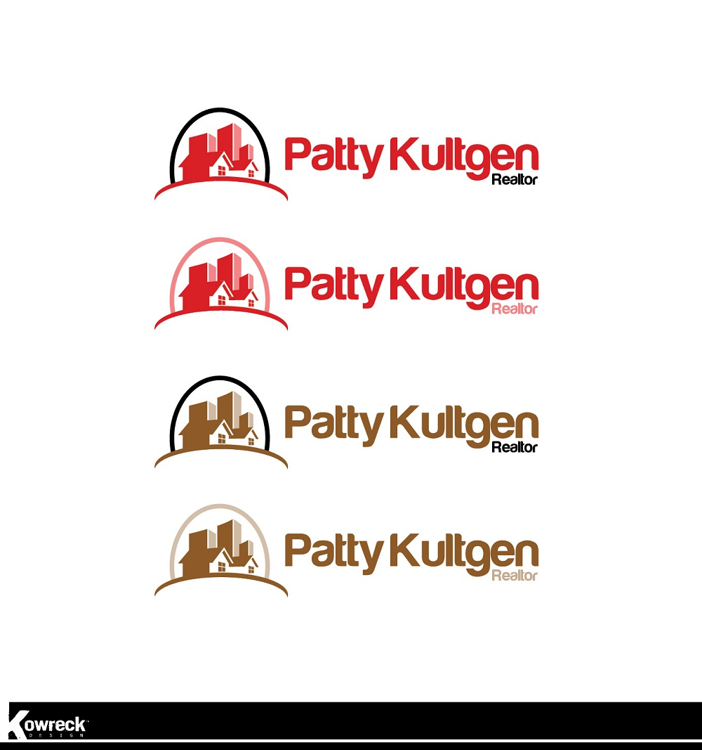 Logo Design by kowreck - Entry No. 99 in the Logo Design Contest Logo Design Needed for Exciting New Company Patricia Kultgen Realtor.