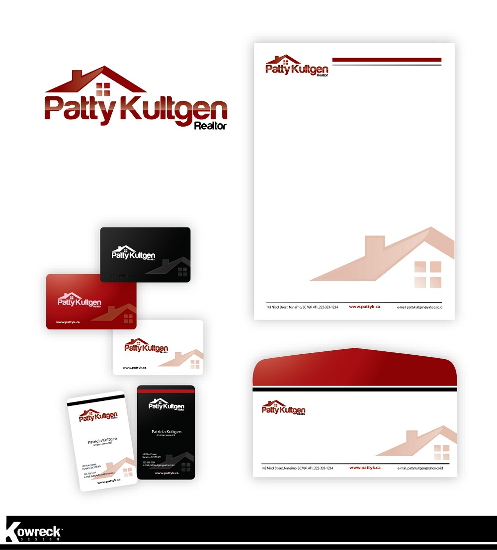 Logo Design by kowreck - Entry No. 101 in the Logo Design Contest Logo Design Needed for Exciting New Company Patricia Kultgen Realtor.