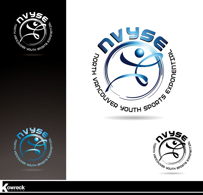 Logo Design by kowreck - Entry No. 21 in the Logo Design Contest Fun Logo Design for North Vancouver Youth Sports Exponential.