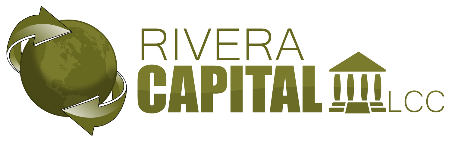 Logo Design by Jeff Gilmet - Entry No. 9 in the Logo Design Contest Logo Design Needed for Exciting New Company Rivera Capital LLC LLC.
