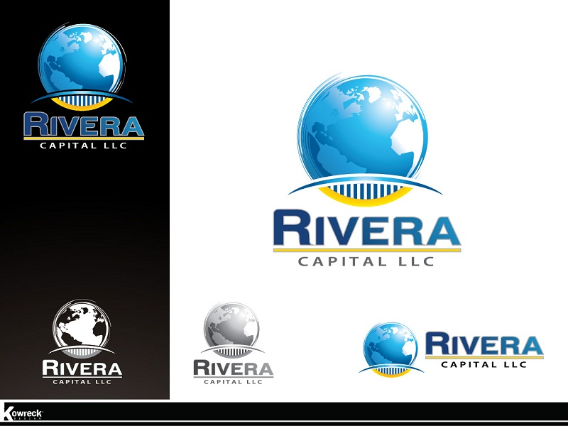Logo Design by kowreck - Entry No. 10 in the Logo Design Contest Logo Design Needed for Exciting New Company Rivera Capital LLC LLC.