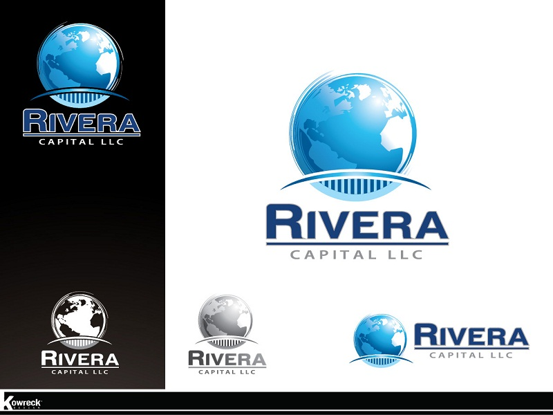 Logo Design by kowreck - Entry No. 11 in the Logo Design Contest Logo Design Needed for Exciting New Company Rivera Capital LLC LLC.