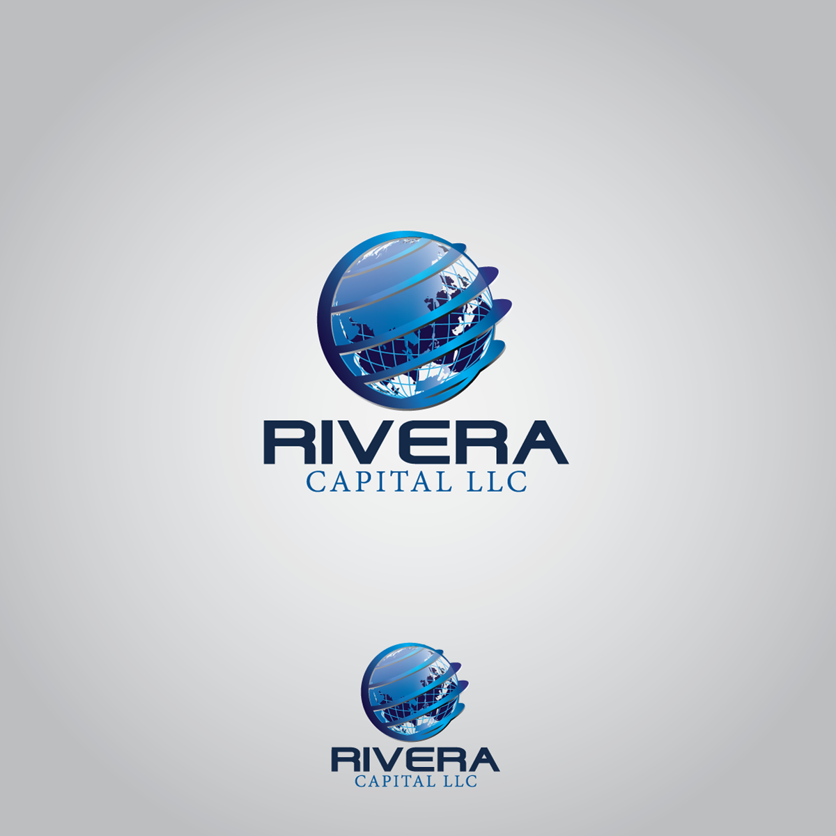 Logo Design by rockin - Entry No. 15 in the Logo Design Contest Logo Design Needed for Exciting New Company Rivera Capital LLC LLC.