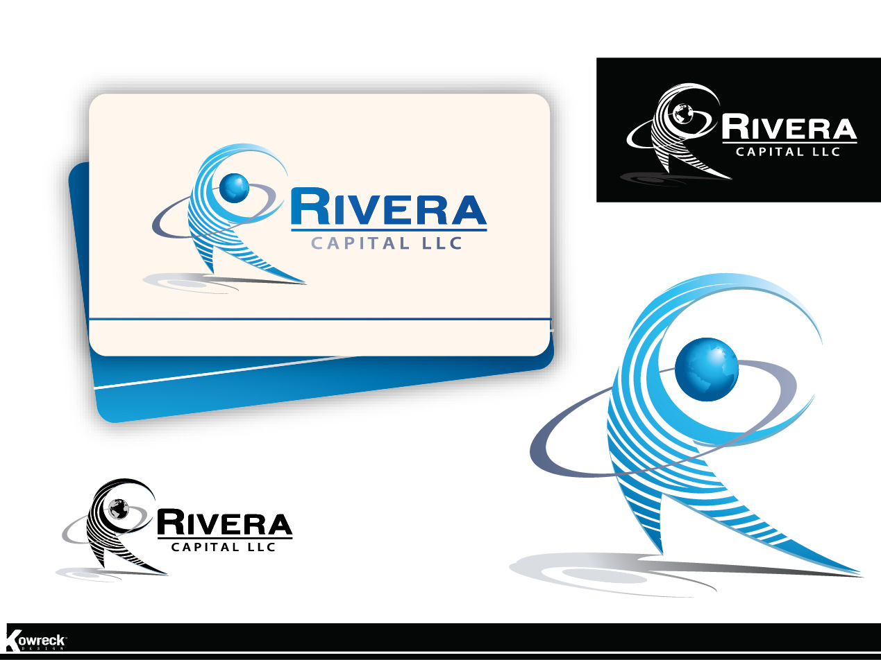 Logo Design by kowreck - Entry No. 17 in the Logo Design Contest Logo Design Needed for Exciting New Company Rivera Capital LLC LLC.