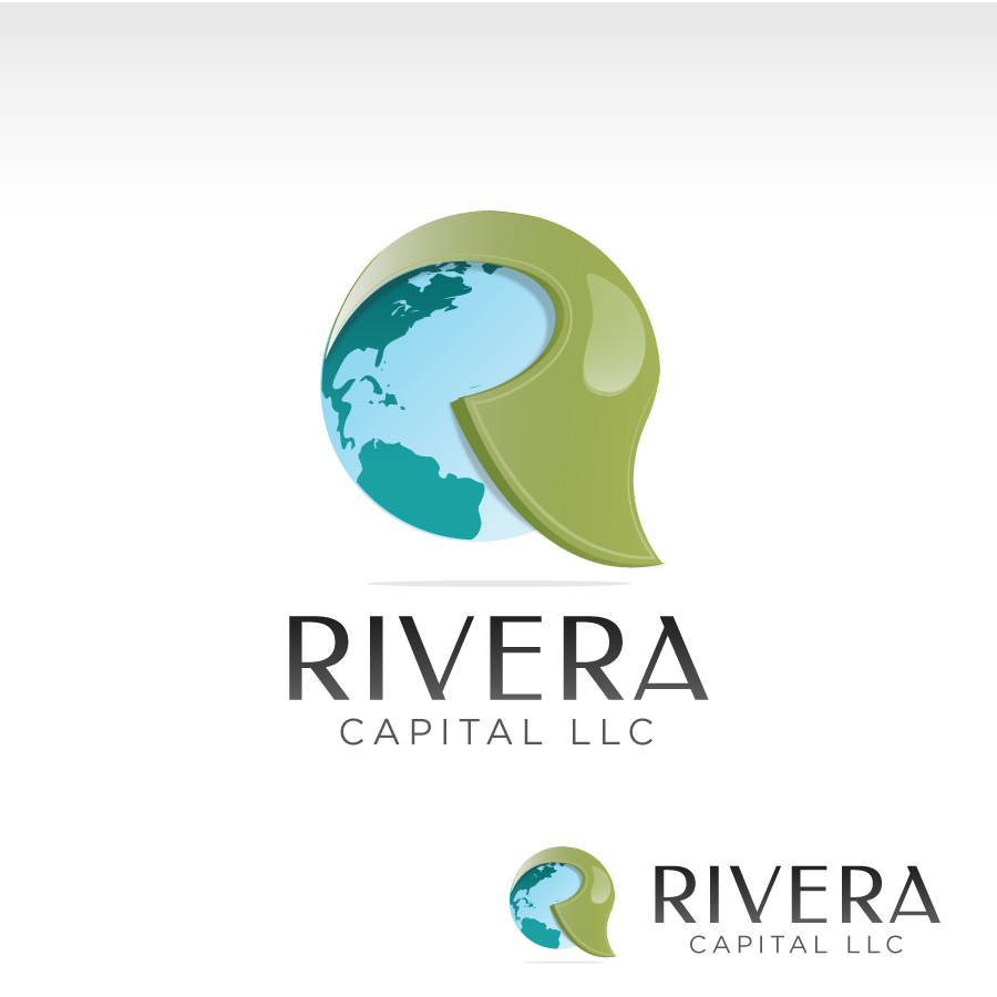 Logo Design by Edward Goodwin - Entry No. 23 in the Logo Design Contest Logo Design Needed for Exciting New Company Rivera Capital LLC LLC.