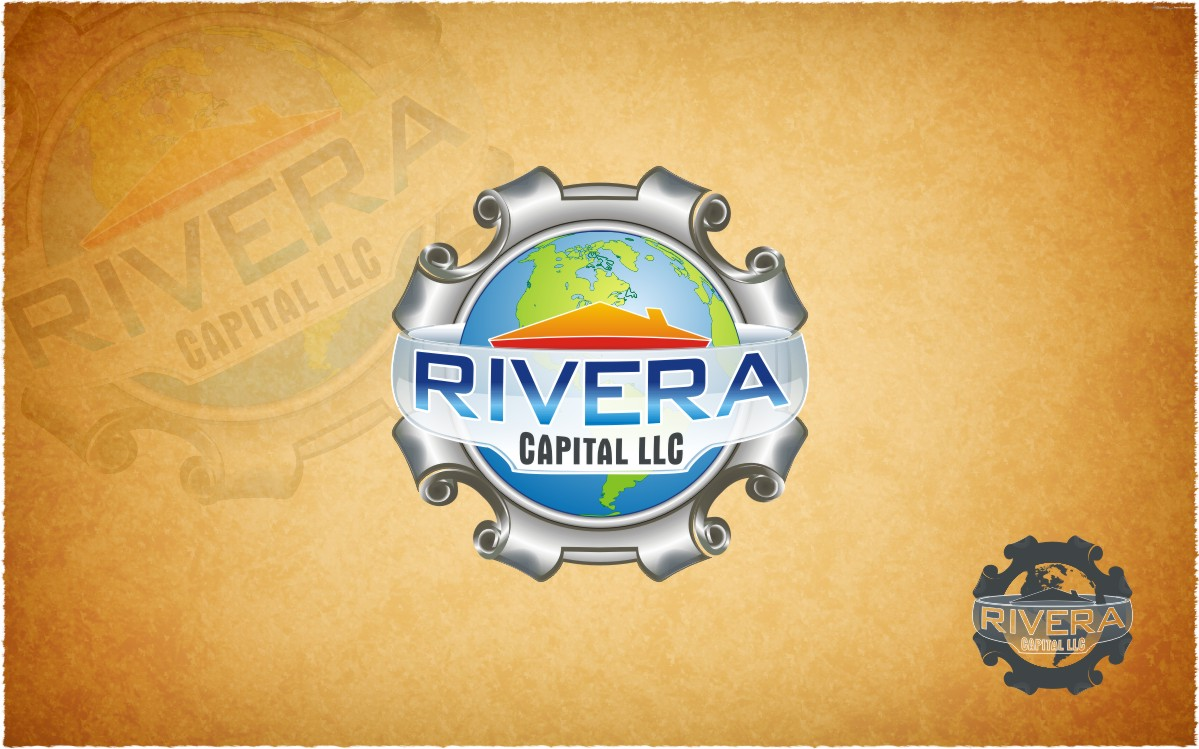 Logo Design by Eric White Origami Associates - Entry No. 25 in the Logo Design Contest Logo Design Needed for Exciting New Company Rivera Capital LLC LLC.