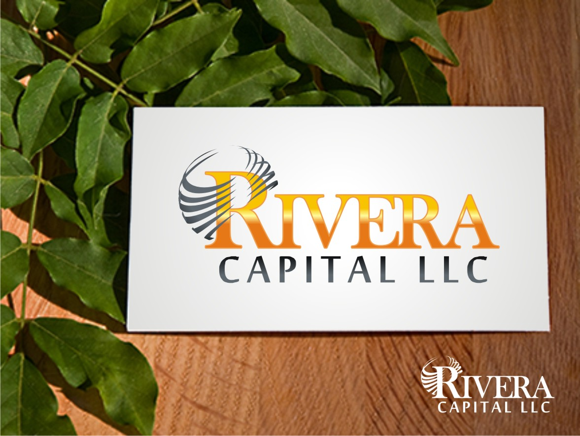 Logo Design by Eric White Origami Associates - Entry No. 26 in the Logo Design Contest Logo Design Needed for Exciting New Company Rivera Capital LLC LLC.