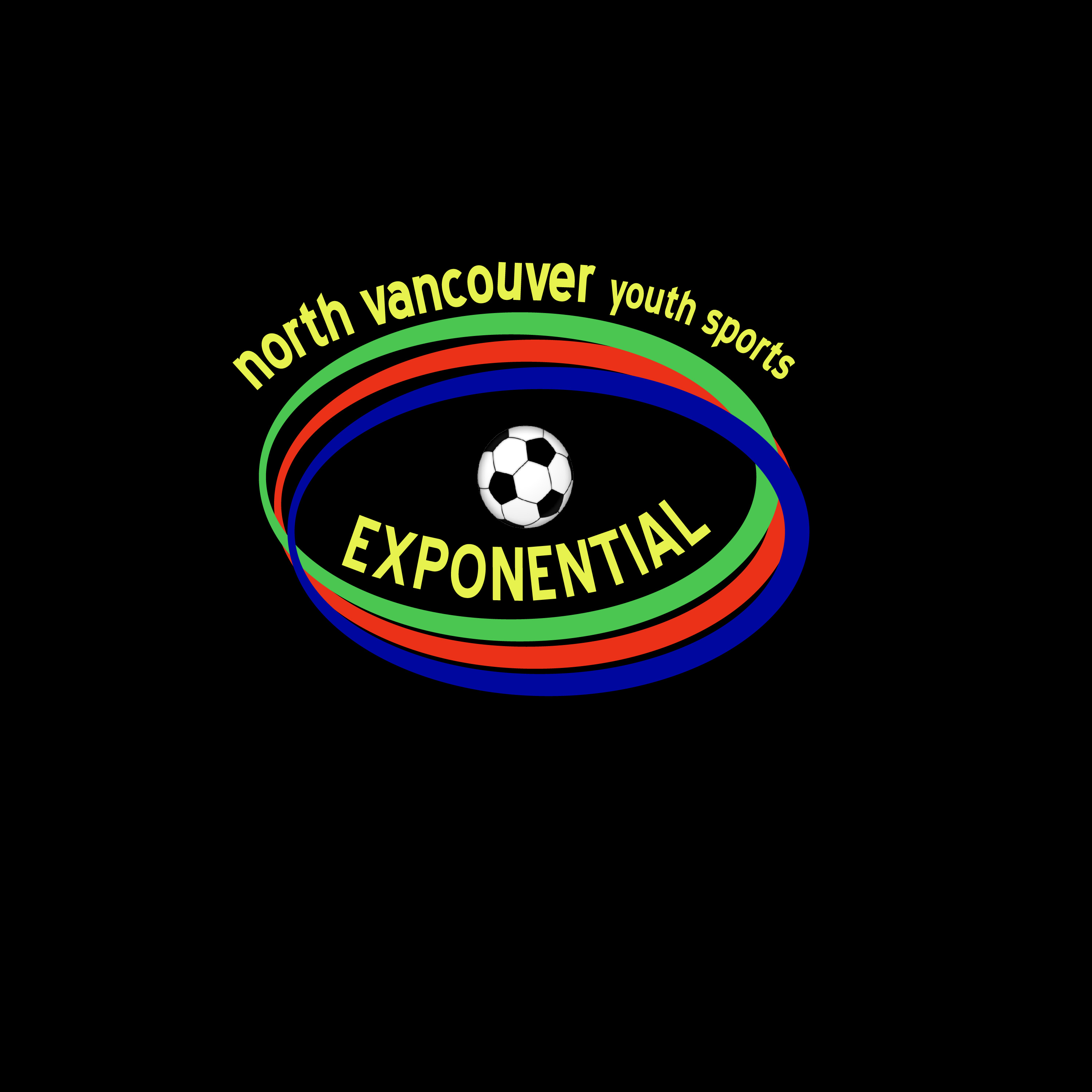 Logo Design by Nancy Grant - Entry No. 26 in the Logo Design Contest Fun Logo Design for North Vancouver Youth Sports Exponential.