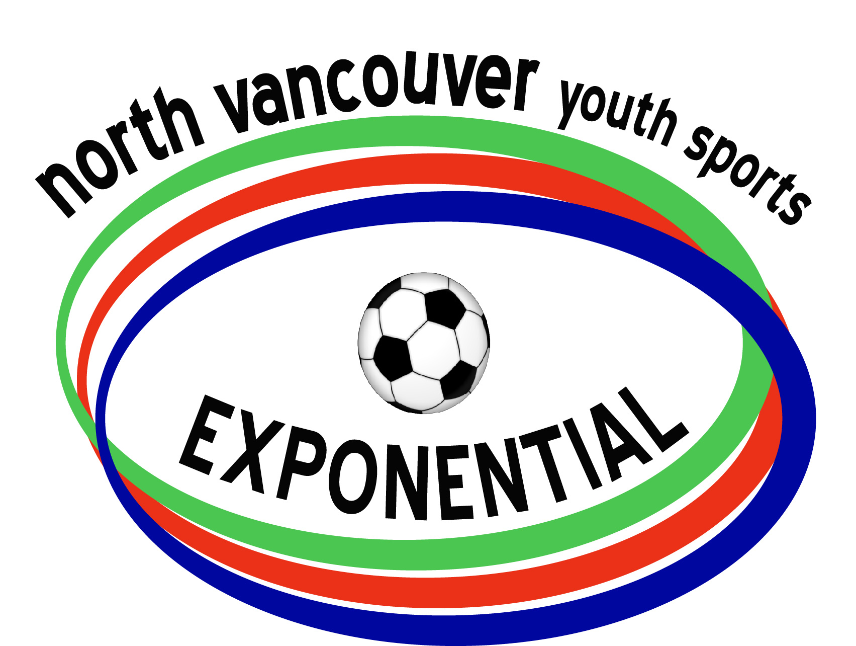 Logo Design by Nancy Grant - Entry No. 28 in the Logo Design Contest Fun Logo Design for North Vancouver Youth Sports Exponential.