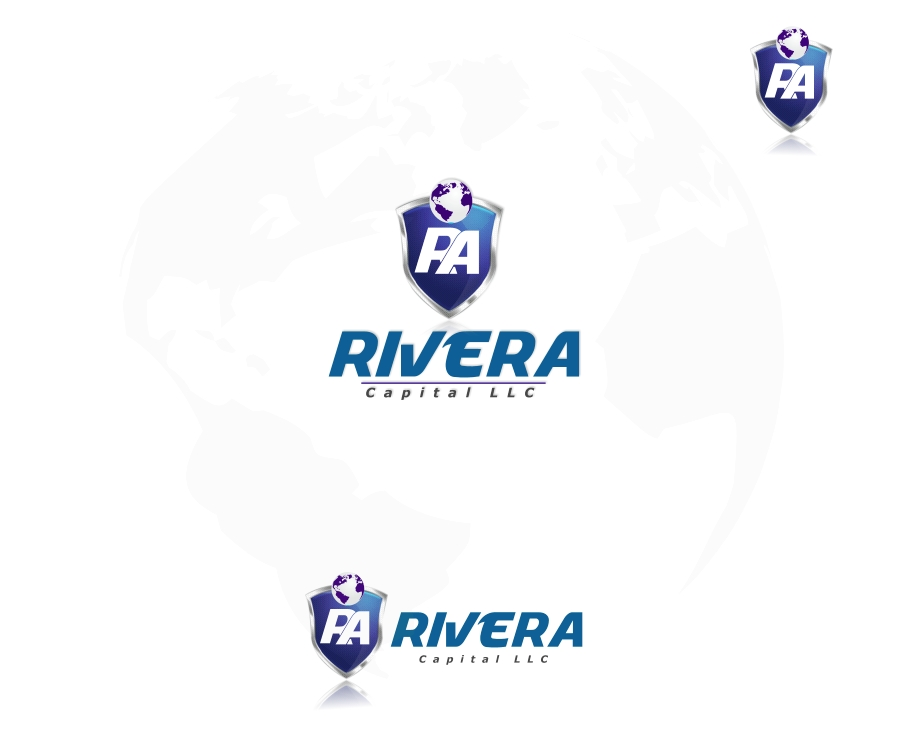 Logo Design by Private User - Entry No. 36 in the Logo Design Contest Logo Design Needed for Exciting New Company Rivera Capital LLC LLC.