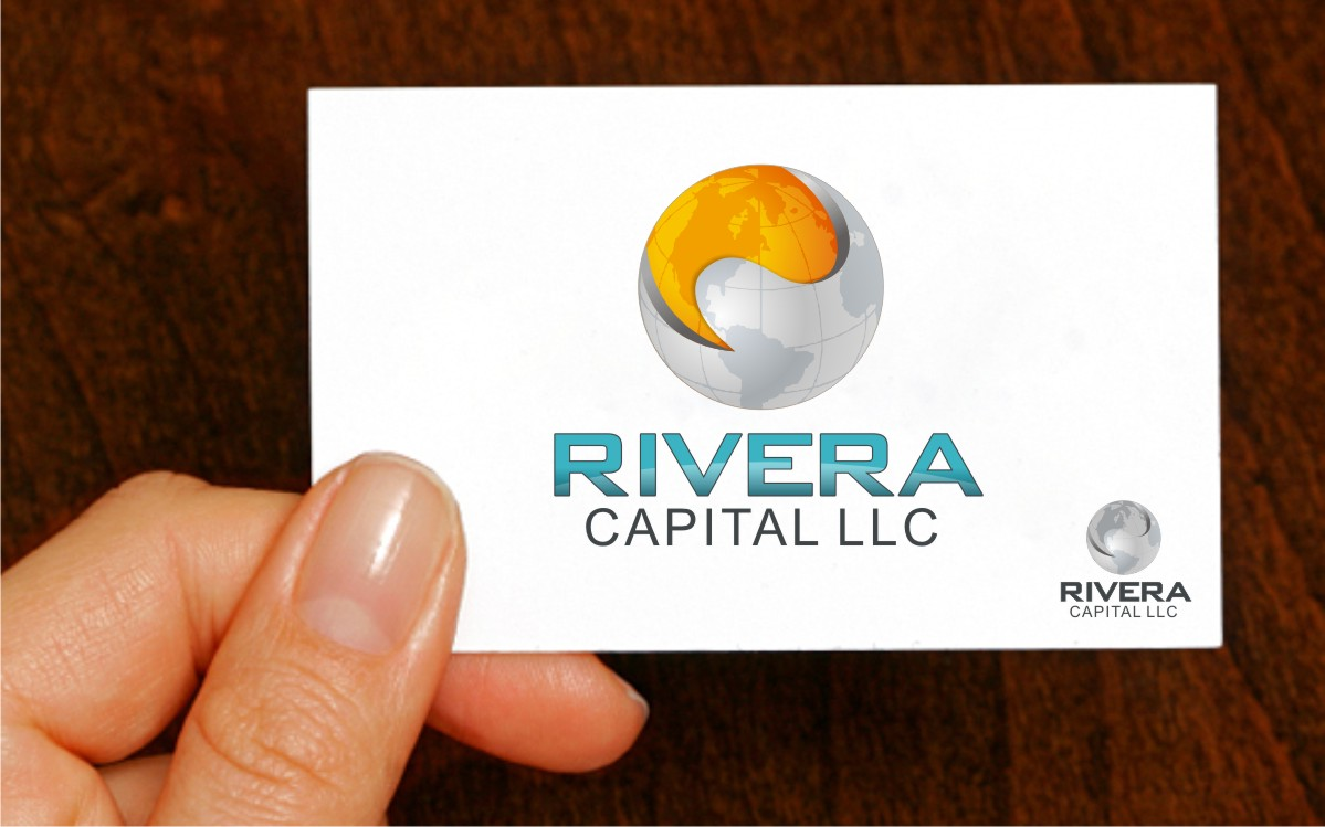 Logo Design by Eric White Origami Associates - Entry No. 37 in the Logo Design Contest Logo Design Needed for Exciting New Company Rivera Capital LLC LLC.