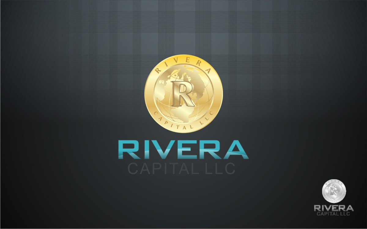 Logo Design by Eric White Origami Associates - Entry No. 39 in the Logo Design Contest Logo Design Needed for Exciting New Company Rivera Capital LLC LLC.