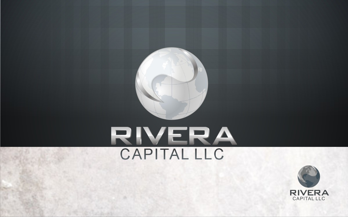 Logo Design by Eric White Origami Associates - Entry No. 40 in the Logo Design Contest Logo Design Needed for Exciting New Company Rivera Capital LLC LLC.
