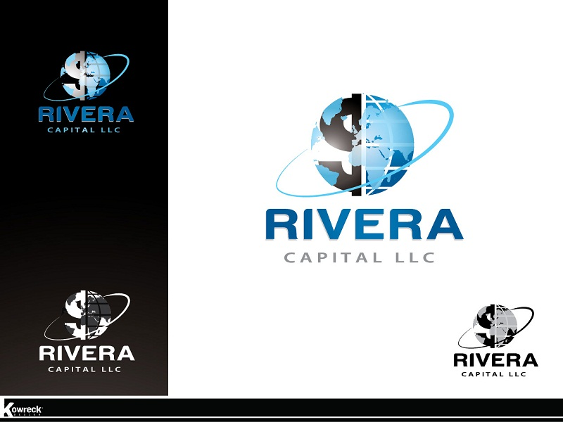 Logo Design by kowreck - Entry No. 41 in the Logo Design Contest Logo Design Needed for Exciting New Company Rivera Capital LLC LLC.