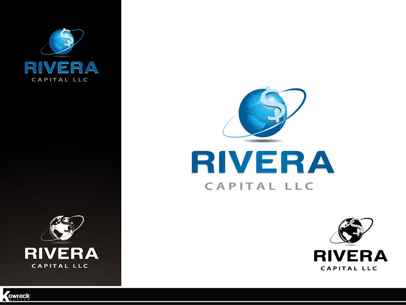 Logo Design by kowreck - Entry No. 42 in the Logo Design Contest Logo Design Needed for Exciting New Company Rivera Capital LLC LLC.