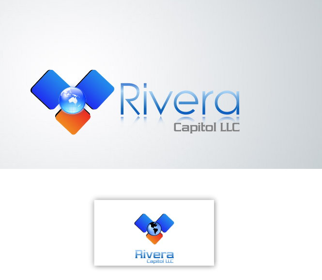 Logo Design by Clifton Gage - Entry No. 46 in the Logo Design Contest Logo Design Needed for Exciting New Company Rivera Capital LLC LLC.