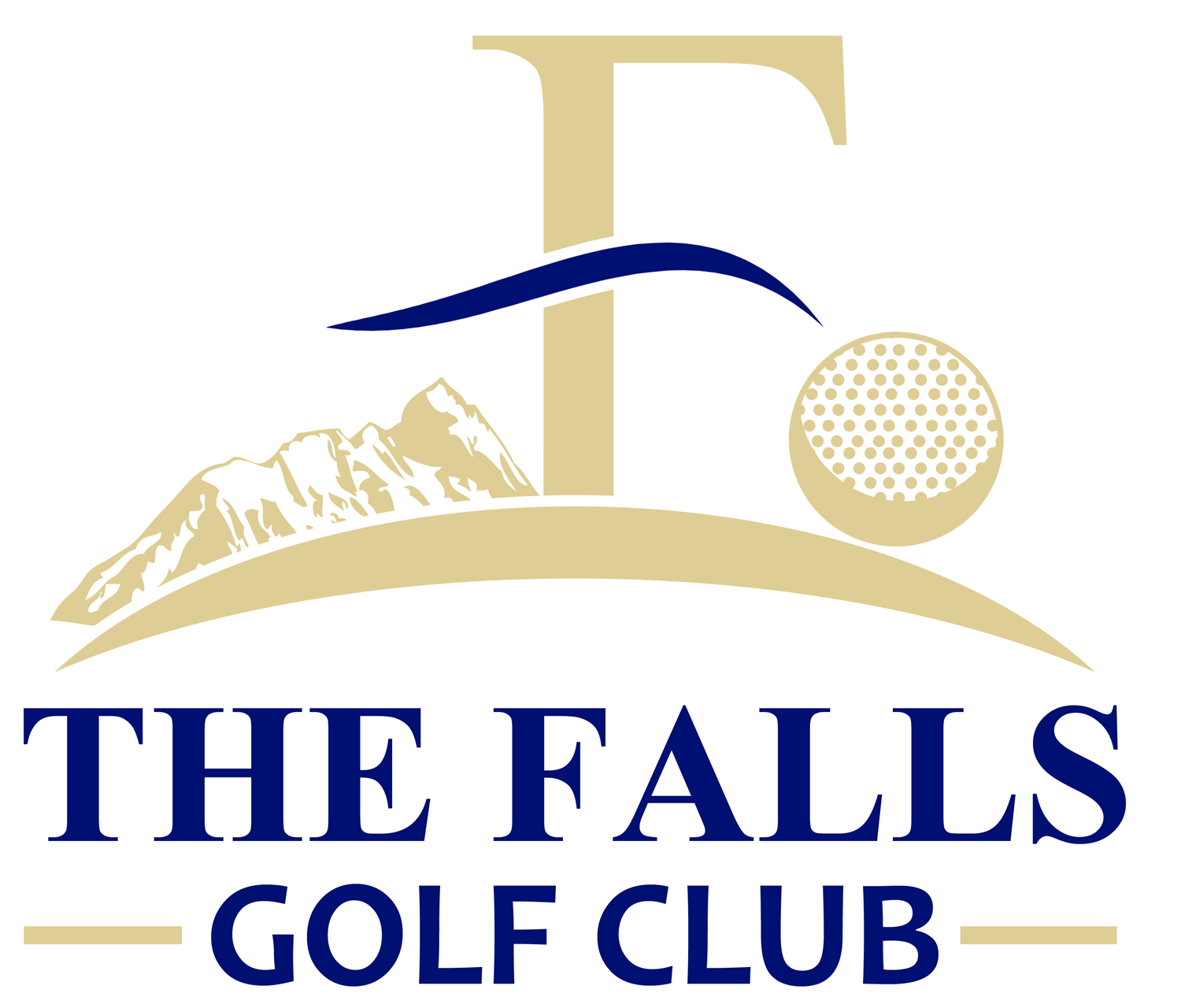 Logo Design by Jeff Gilmet - Entry No. 1 in the Logo Design Contest The Falls Golf Club Logo Design.