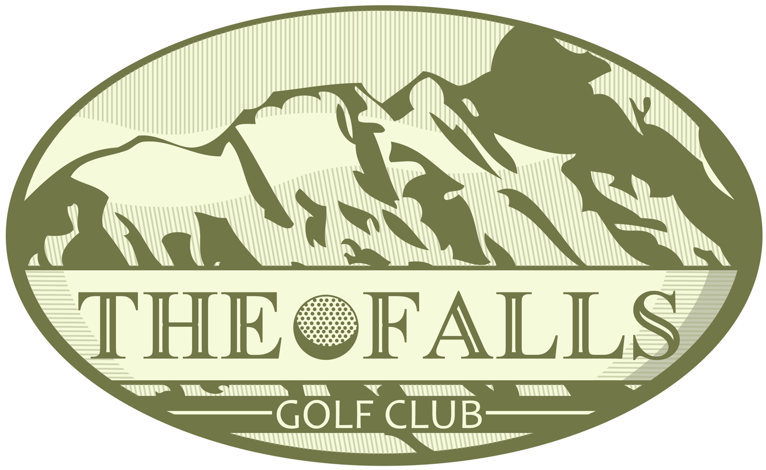 Logo Design by Jeff Gilmet - Entry No. 2 in the Logo Design Contest The Falls Golf Club Logo Design.