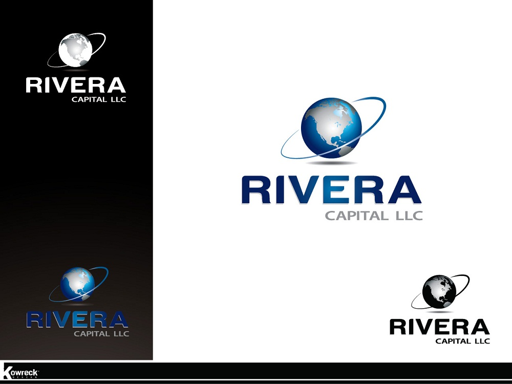 Logo Design by kowreck - Entry No. 54 in the Logo Design Contest Logo Design Needed for Exciting New Company Rivera Capital LLC LLC.